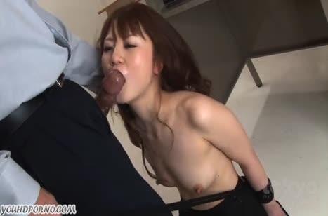 Мужик наказывает сексом красивую жену азиаточку 5