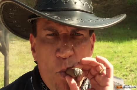 Грудастая Рикки Сикс устроила анальное порно с ковбоем 2